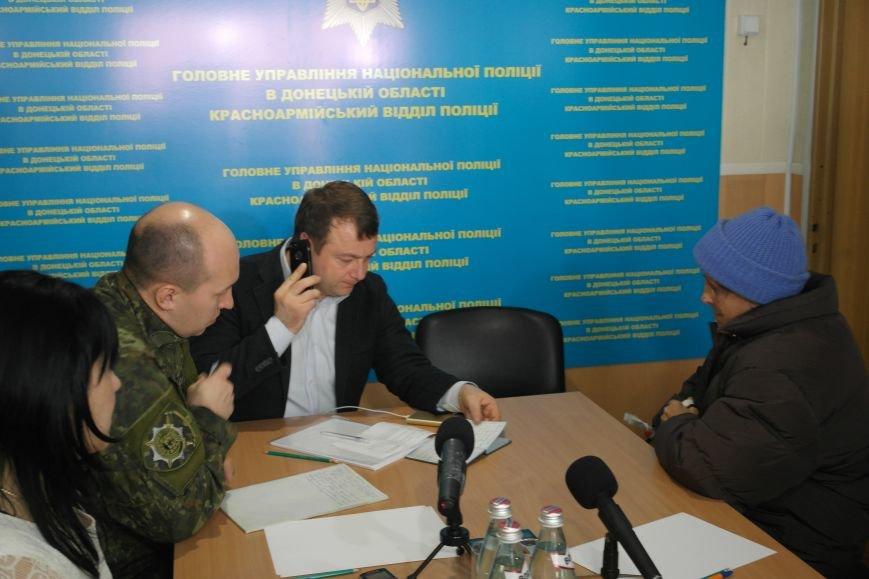 В Покровске мэр города и начальник отдела полиции решали проблемы горожан, фото-2