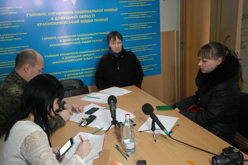 В Покровске мэр города и начальник отдела полиции решали проблемы горожан, фото-3