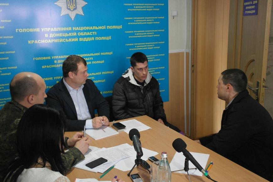 В Покровске мэр города и начальник отдела полиции решали проблемы горожан, фото-6