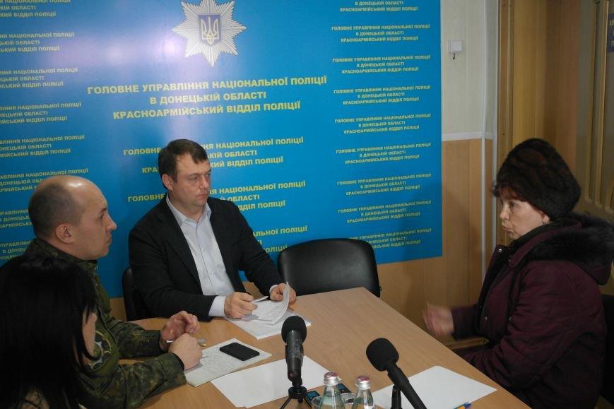 В Покровске мэр города и начальник отдела полиции решали проблемы горожан, фото-5