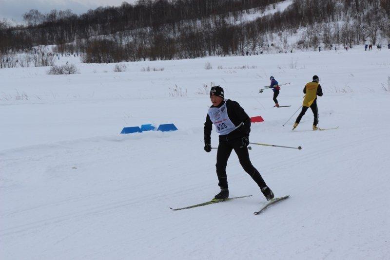 лыжи внутрь