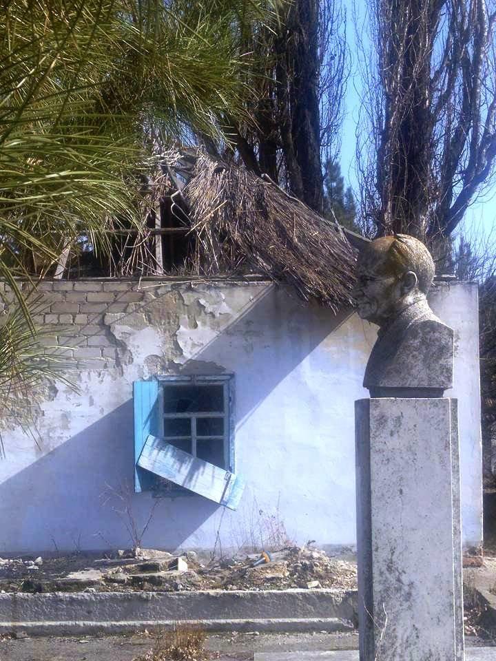 На Херсонщине дом-музей Остапа Вишни находится в разрушенном состоянии (фото), фото-1
