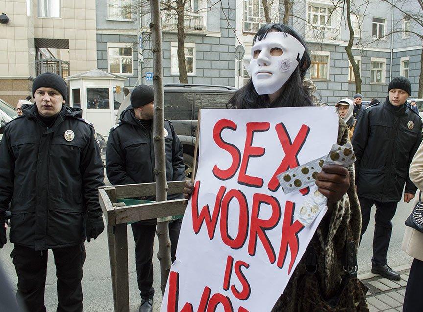Марш красных зонтиков: как в Киеве митинговали секс-работники (ФОТОРЕПОРТАЖ), фото-13