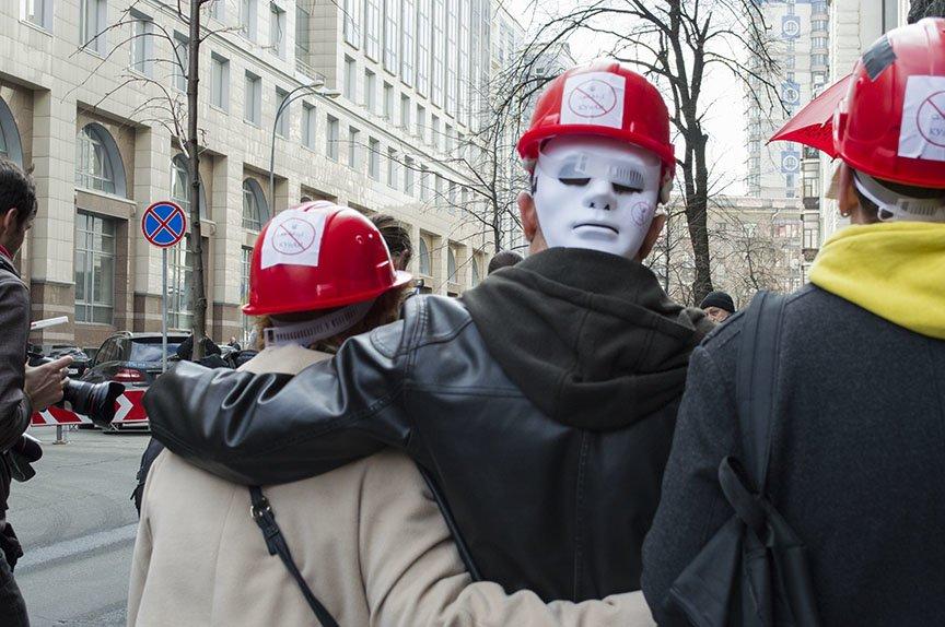 Марш красных зонтиков: как в Киеве митинговали секс-работники (ФОТОРЕПОРТАЖ), фото-11