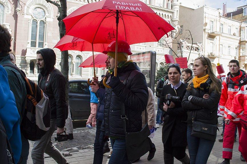 Марш красных зонтиков: как в Киеве митинговали секс-работники (ФОТОРЕПОРТАЖ), фото-14