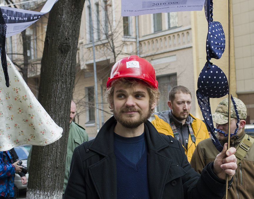 Марш красных зонтиков: как в Киеве митинговали секс-работники (ФОТОРЕПОРТАЖ), фото-16