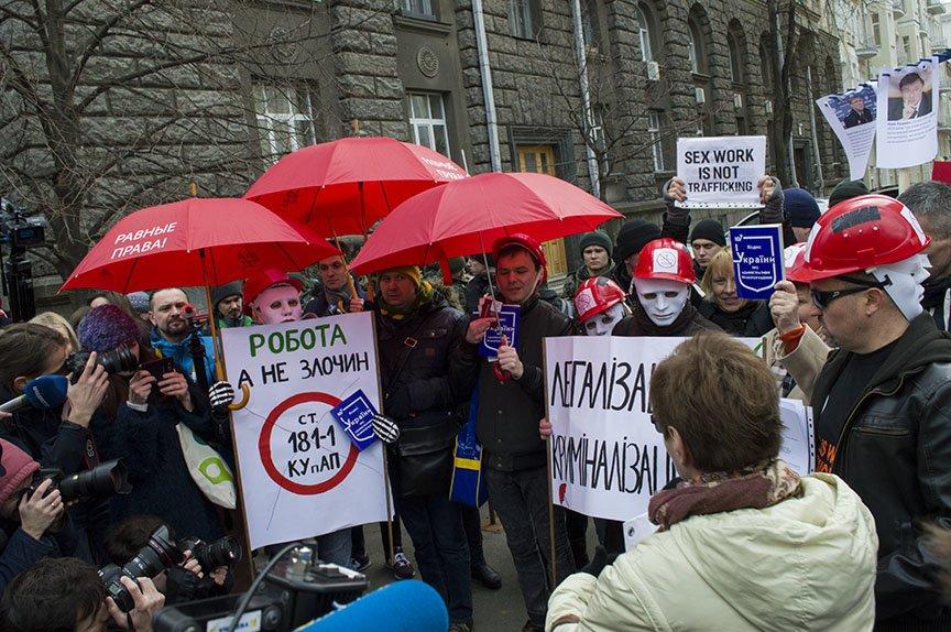 Марш красных зонтиков: как в Киеве митинговали секс-работники (ФОТОРЕПОРТАЖ), фото-21
