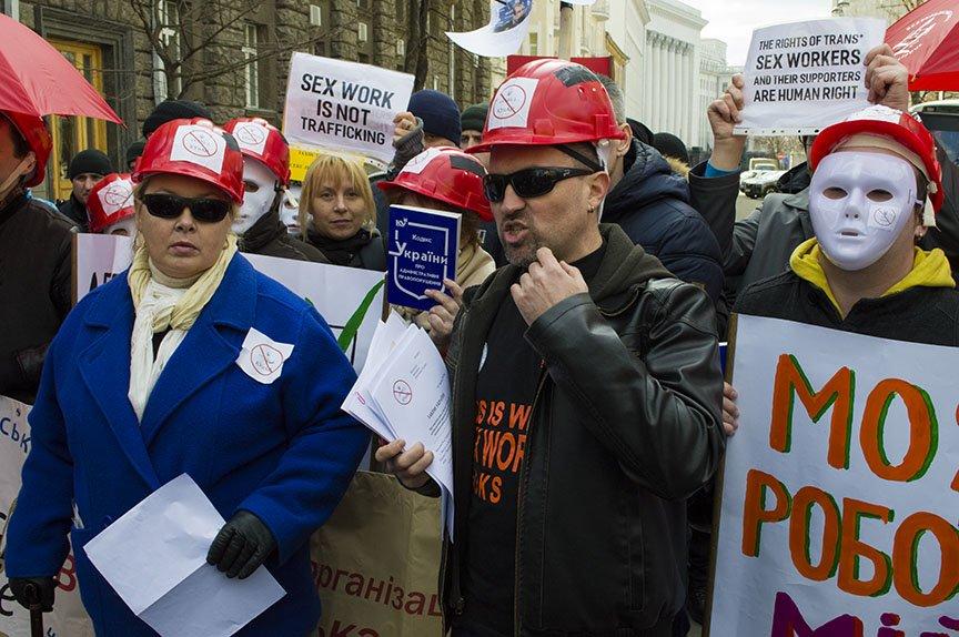 Марш красных зонтиков: как в Киеве митинговали секс-работники (ФОТОРЕПОРТАЖ), фото-22