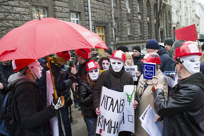 Марш красных зонтиков: как в Киеве митинговали секс-работники (ФОТОРЕПОРТАЖ), фото-15