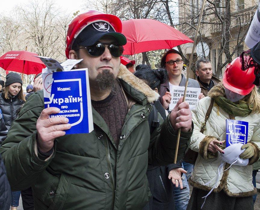 Марш красных зонтиков: как в Киеве митинговали секс-работники (ФОТОРЕПОРТАЖ), фото-12