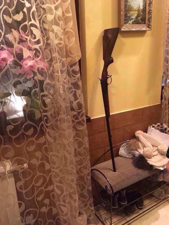 """У селі Баранинці психічнохворому мешканцю з рушницею викликали """"швидку"""": фото, фото-1"""