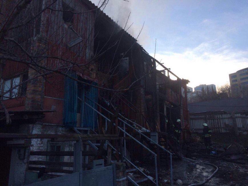 Пожар в Днепре: горел жилой дом (ФОТО), фото-3