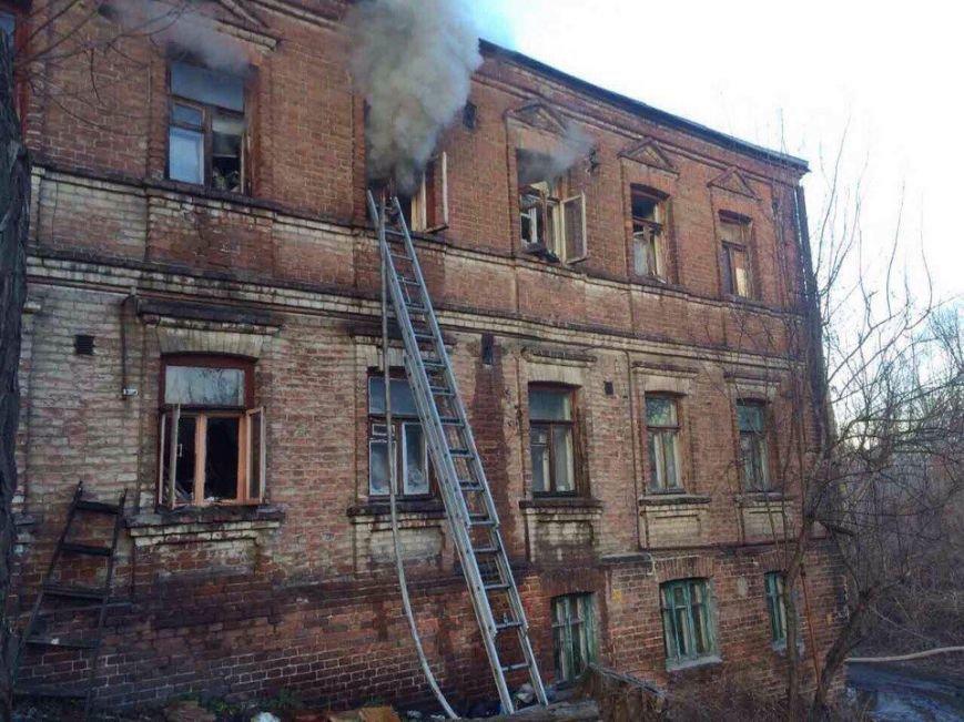 Пожар в Днепре: горел жилой дом (ФОТО), фото-5