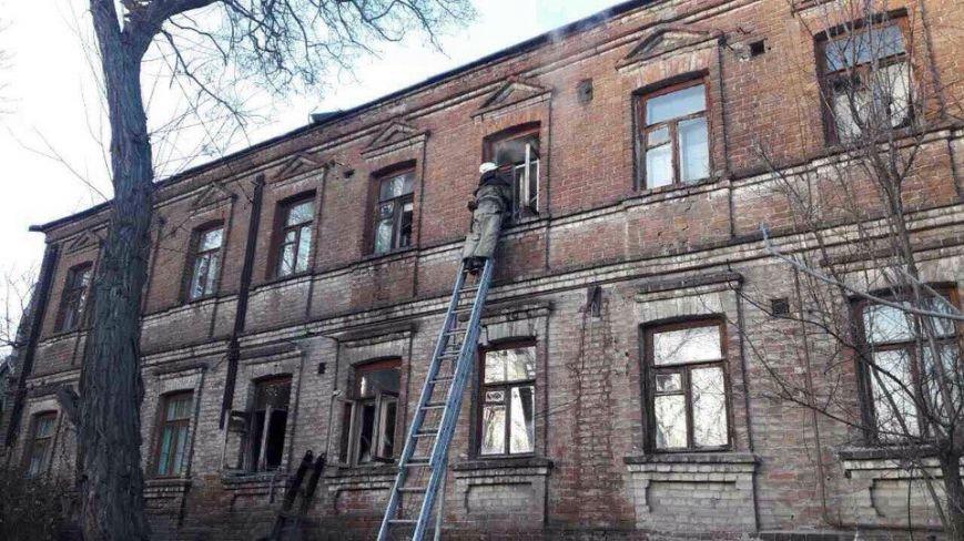 Пожар в Днепре: горел жилой дом (ФОТО), фото-6