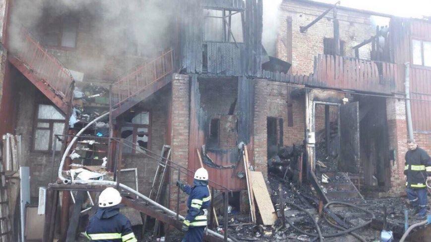 Пожар в Днепре: горел жилой дом (ФОТО), фото-4