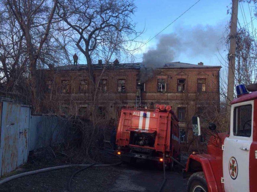 Пожар в Днепре: горел жилой дом (ФОТО), фото-2