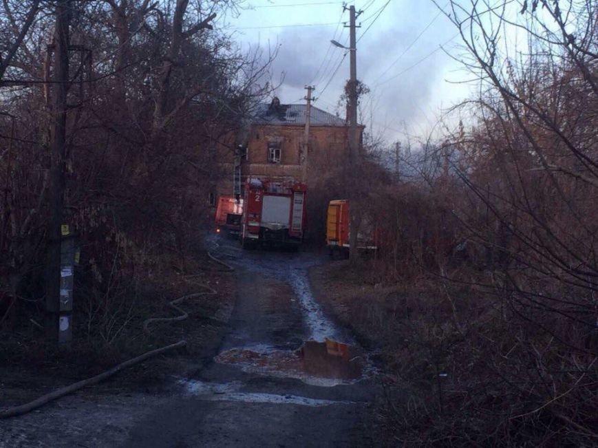 Пожар в Днепре: горел жилой дом (ФОТО), фото-1