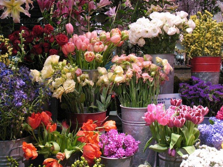 Цветочная ярмарка