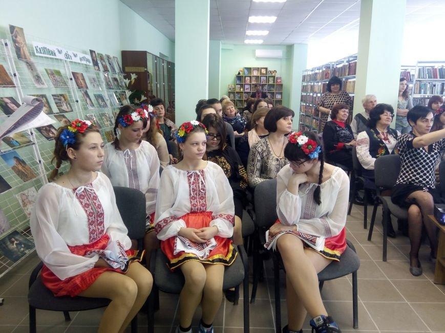 Впервые в стенах Покровской библиотеки прошел конкурс чтецов памяти Шевченко, фото-7