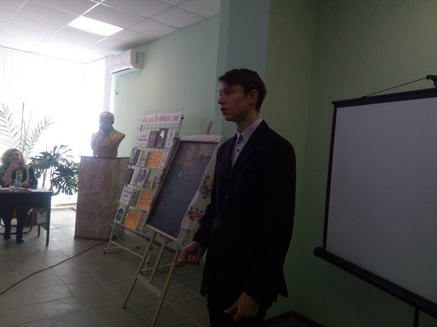 Впервые в стенах Покровской библиотеки прошел конкурс чтецов памяти Шевченко, фото-6