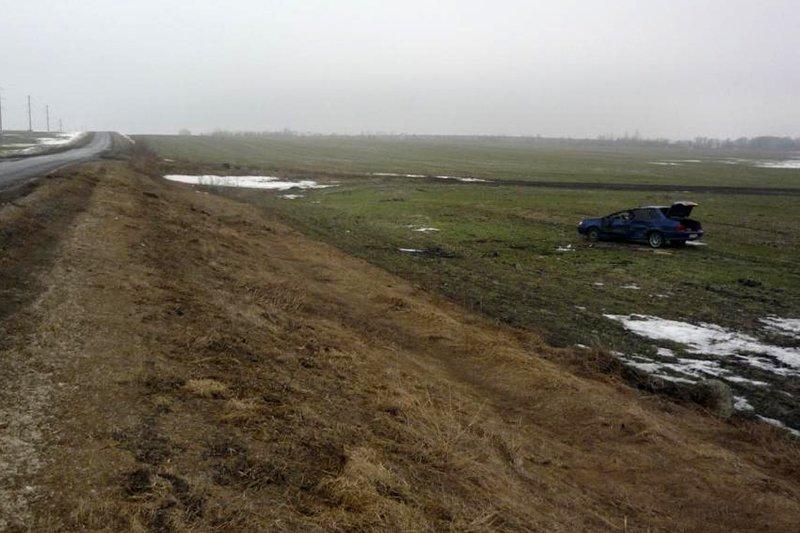 Два ВАЗа не разъехались на объездной дороге в Белгороде, фото-1
