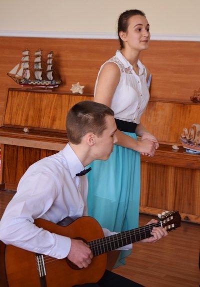 В гимназии Черноморска представили креативный «Морской проект» (фото), фото-6