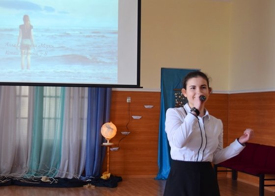 В гимназии Черноморска представили креативный «Морской проект» (фото), фото-8