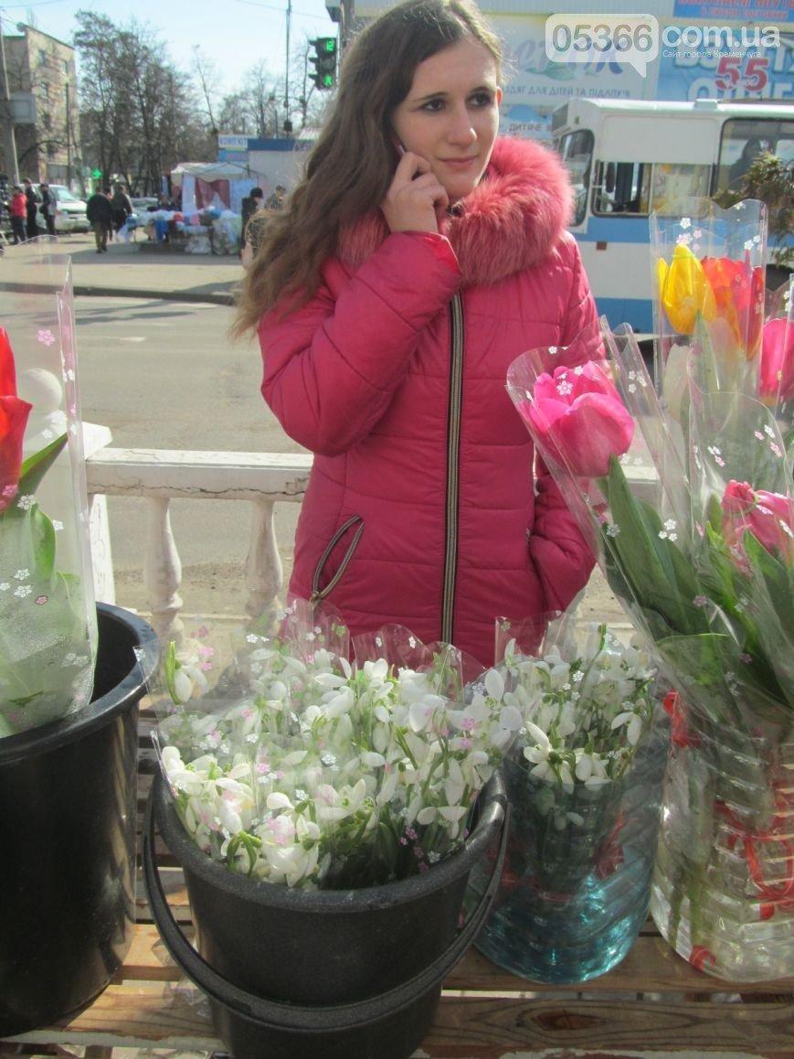 За торговлю краснокнижными первоцветами в Кременчуге будут нещадно штрафовать, фото-1