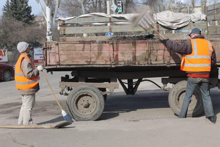 """Центр города: """"12 спартанцев"""" на страже чистоты в Краматорске, фото-2"""