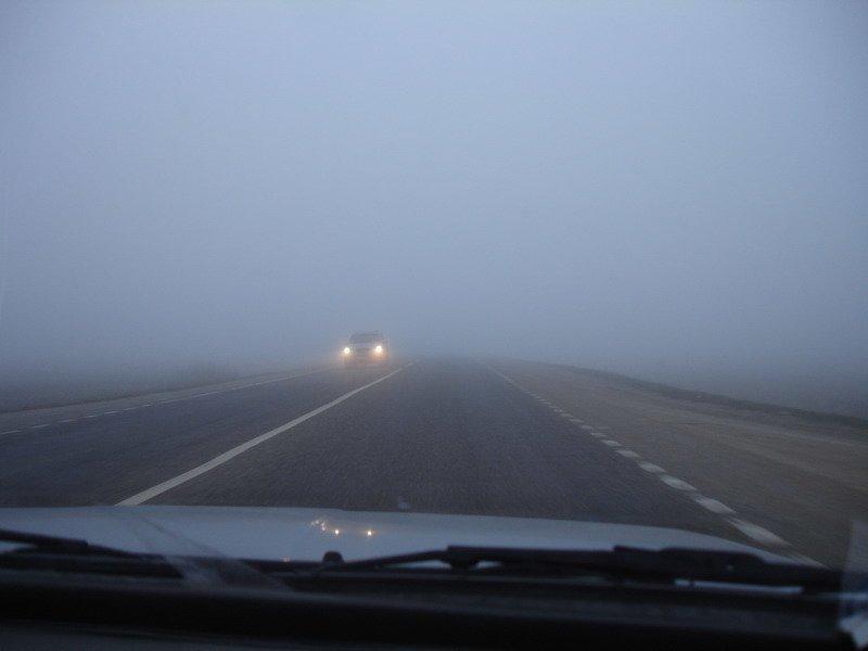туман дорогоа