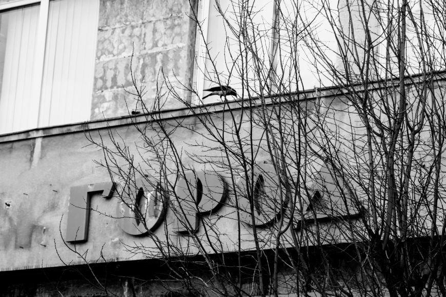 """Як на Волошина невідомі у балаклавах """"розбирають"""" кінотеатр """"Ужгород"""": фоторепортаж, фото-3"""
