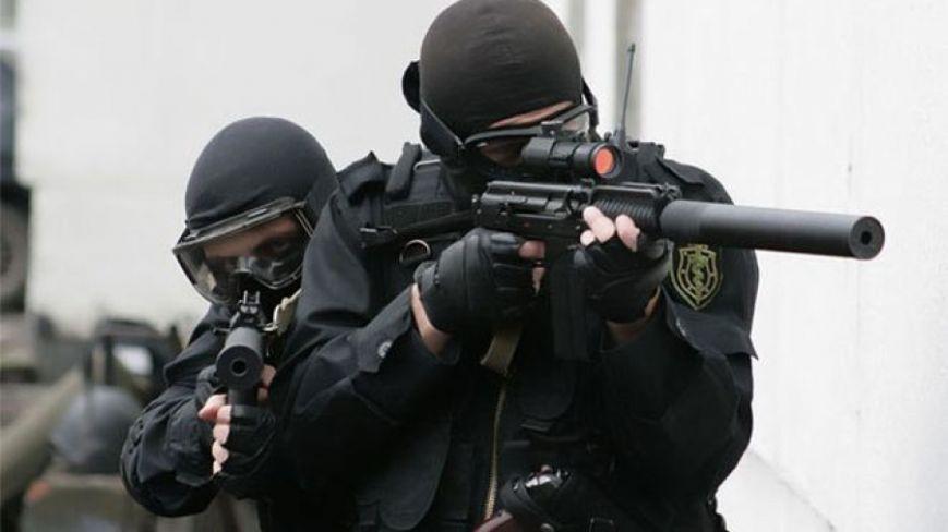 Антитеррористические учения