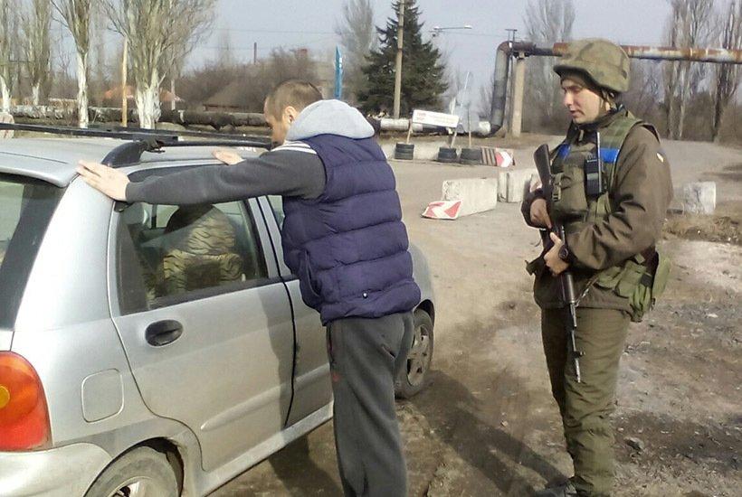 В Покровске харьковские гвардейцы задержали двух сторонников террористов, фото-1