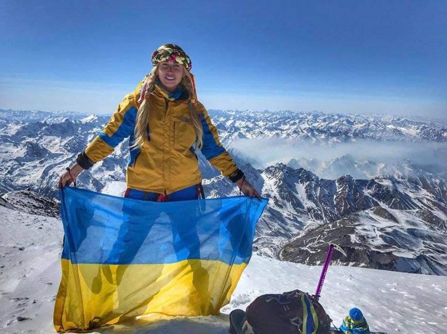 Як закарпатська альпіністка Ірина Галай зустрічала 8 березня на найвищій горі Європи: фото, фото-1