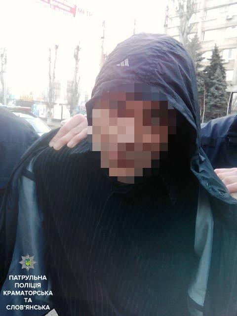 В Краматорске на улице задержали двух наркоманов, фото-3
