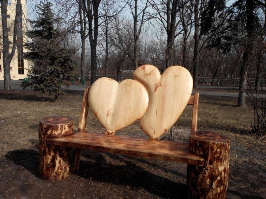В Киеве появилась лавочка для влюбленных (ФОТО), фото-1