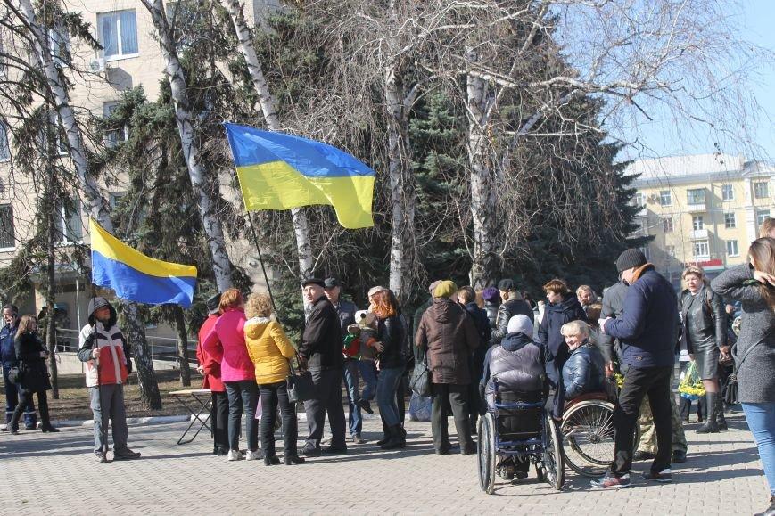 Краматорчане почтили память Великого Кобзаря в сквере Шевченка, фото-6
