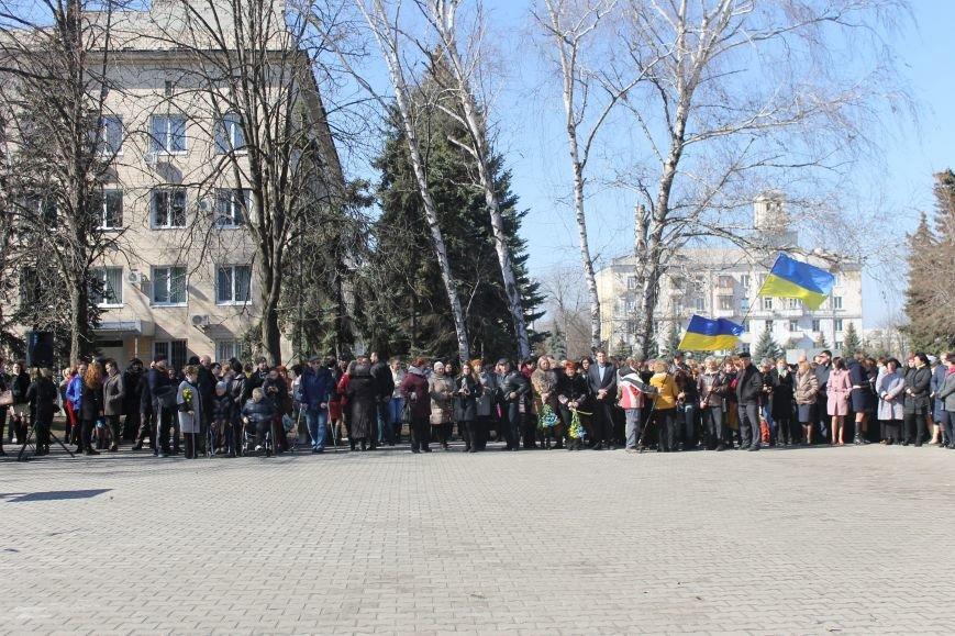 Краматорчане почтили память Великого Кобзаря в сквере Шевченка, фото-1