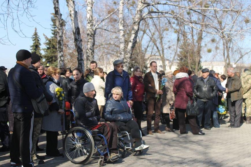 Краматорчане почтили память Великого Кобзаря в сквере Шевченка, фото-2