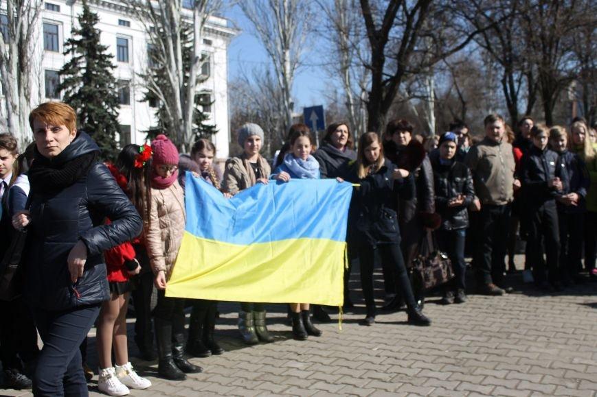 Краматорчане почтили память Великого Кобзаря в сквере Шевченка, фото-4