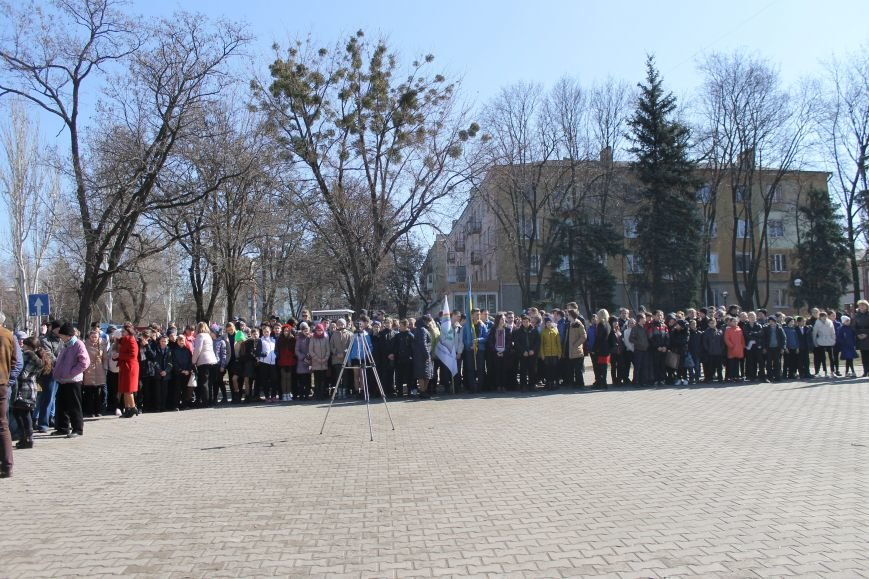 Краматорчане почтили память Великого Кобзаря в сквере Шевченка, фото-5