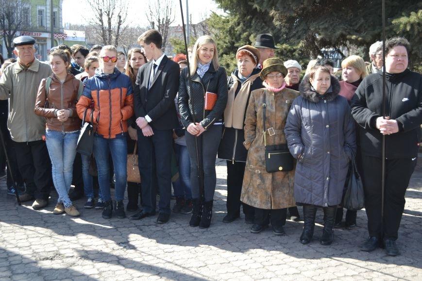 В Каменском отметили день рождения Тараса Шевченко, фото-5