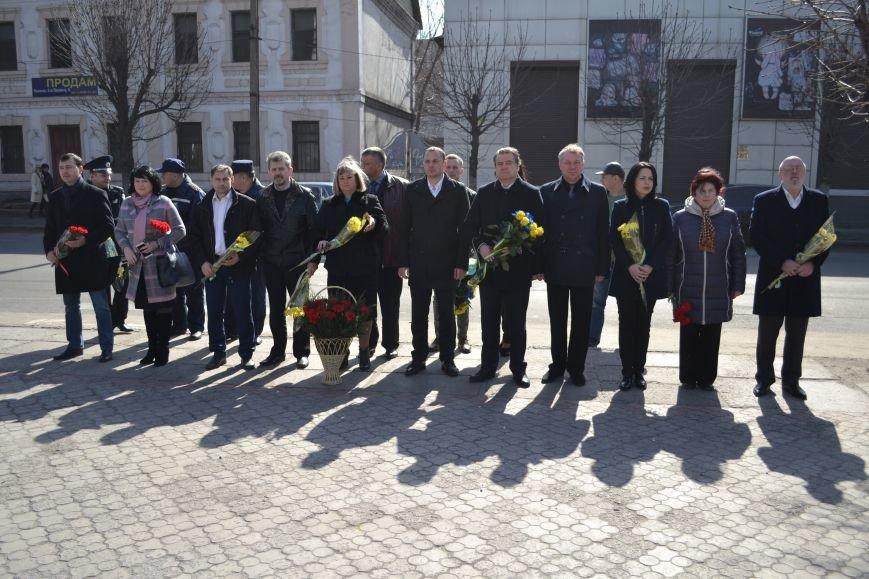 В Каменском отметили день рождения Тараса Шевченко, фото-1