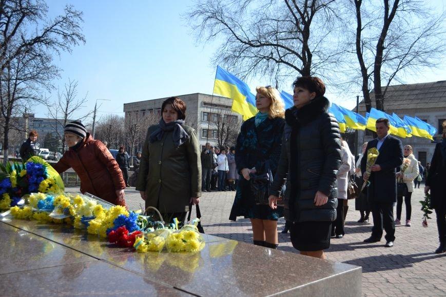 В Каменском отметили день рождения Тараса Шевченко, фото-13