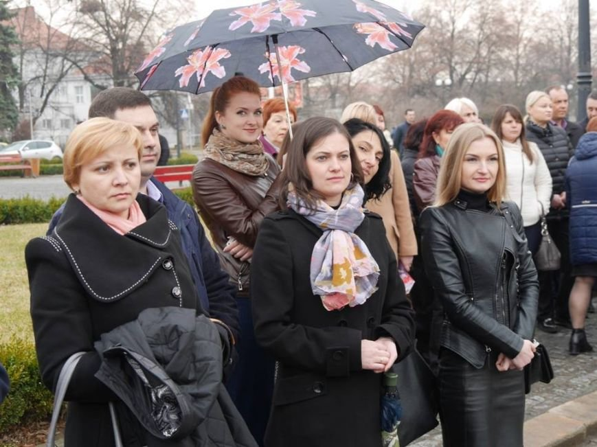 В Ужгороді відзначили 203-ю річницю з дня народження Кобзаря: фото, фото-6
