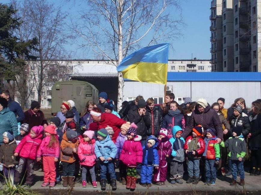 Сегодня в Мирнограде состоялся торжественный митинг, фото-4