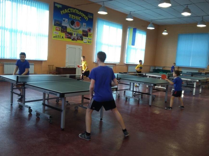 В Покровске состоялось первенство ДЮСШ по настольному теннису, фото-1