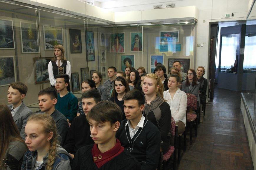 В Покровском городском музее почтили память великого поэта Тараса Шевченко, фото-5