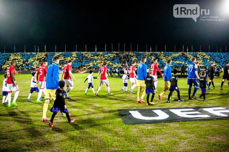 Легенды-на-Дону: «Манчестер Юнайтед» и «Ростов» сыграли на «Олимпе-2», фото-2