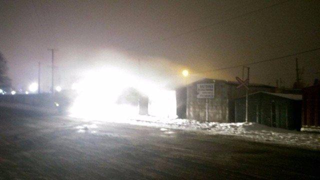 В Ужгороді на Гвардійській загорівся гараж з речами мешканців будинку, фото-1